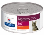 HILL'S PRESCRIPTION DIET I/D DIGESTIVE CARE WET CAT FOOD WITH CHICKEN 156G
