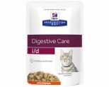 HILL'S PRESCRIPTION DIET I/D DIGESTIVE CARE CHICKEN FELINE WET POUCH 85G