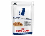 ROYAL CANIN VETERINARY DIET CAT NEUTERED ADULT WEIGHT 100G POUCHES
