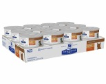 HILLS PRESCRIPTION DIET FELINE K/D RENAL HEALTH CHICKEN PATE 156G (X24)