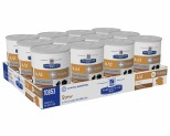 HILL'S PRESCRIPTION DIET K/D KIDNEY CARE + MOBILITY WET DOG FOOD CHICKEN & VEGETABLE STEW CANS 12X354G