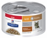 HILLS PRESCRIPTION DIET FELINE K/D PLUS MOBILITY CHICKEN VEGETABLE STEW WET 82G