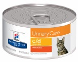 HILL'S PRESCRIPTION DIET C/D MULTICARE URINARY CARE WET CAT FOOD WITH CHICKEN CAN 156G