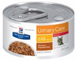 HILLS PRESCRIPTION DIET FELINE C/D STRESS 82G