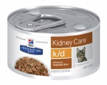 HILL'S PRESCRIPTION DIET K/D KIDNEY CARE WET CAT FOOD CHICKEN & VEGETABLE STEW 82G