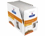HILL'S PRESCRIPTION DIET C/D  URINARY CARE CHICKEN FELINE WET POUCH 12X85G