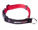 EZYDOG COLLAR CHECKMATE SML RED 26-34CM
