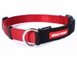 EZYDOG COLLAR CHECKMATE XL RED