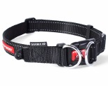 EZYDOG COLLAR DOUBLE UP M BLACK