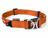 EZYDOG COLLAR DOUBLE UP M ORANGE