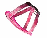 EZYDOG HARNESS CHEST PLATE LGE PINK CAMO 19-35KG