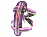 EZYDOG HARNESS CHEST PLATE M BUBBLE GUM