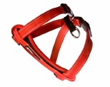 EZYDOG HARNESS CHEST PLATE MED RED 10-19KG