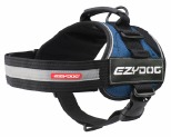 EZYDOG HARNESS CONVERT L BLUE