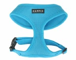 PUPPIA SOFT HARNESS SKY BLUE MEDIUM