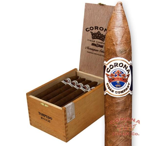 Image of Corona Nicaraguan Torpedo #1 Natural Cigars