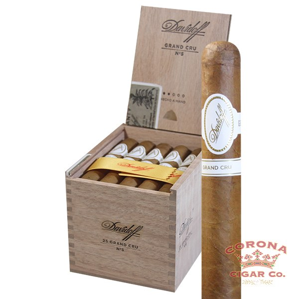Image of Davidoff Grand Cru No.5 Cigars