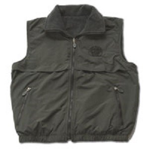 Vest/Rvs/Blk/Charcoal/2X