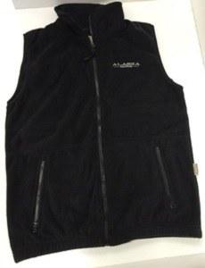 Vest/Black/Fleece/Brand/XS