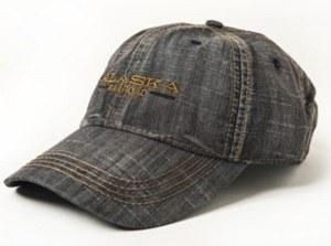 Hat/Adult/Legacy/Black Denim