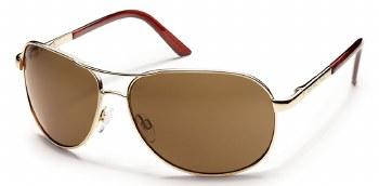 Aviator SC Gold/Brown Polarize