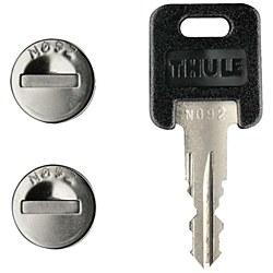 544 4 Pack one key lock cylin
