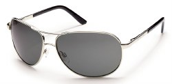 Aviator SC Silver/Gray Polariz