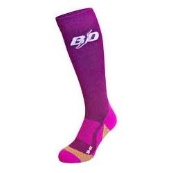 BD Socks Purple 7 MD