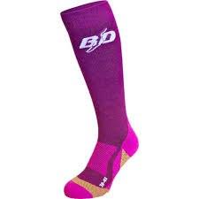 BD Socks Purple 7 SM