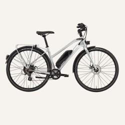 City E-Bike Step-Thru Silver