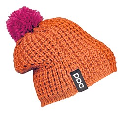 Color Beanie Orange Pink