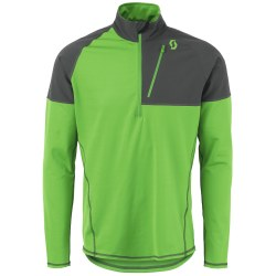 Defined Warm Pullover Green MD