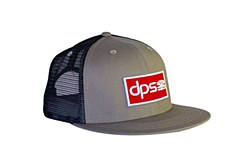 Garage Patch Trucker Hat - Gry