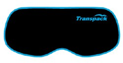 Goggle Cover Black w/ Blue