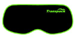 Goggle Cover Black w/ Lime