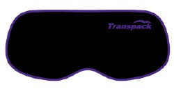 Goggle Cover Black w/ Purple