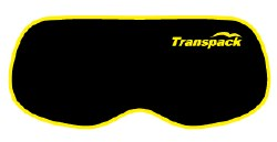 Goggle Cover Black w/ Yellow