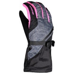 Jr Ult Premium Glove Blk/Pk MD