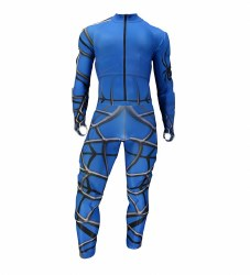 Nine Ninety Race Suit Blue MD