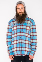 Reading Flannel Hoodie 2020 MD