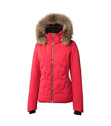 Rose Hybrid Down Jacket 10