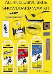 Ski and Snowboard Wax Kit