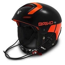 Slalom Helmet Blk/Ora 54cm