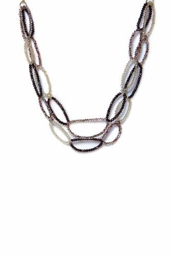 Envy Jewellery Crystal Loop Necklace