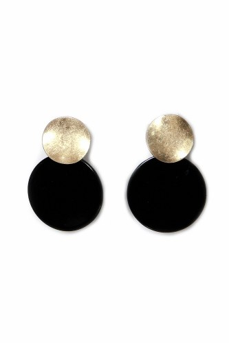 Envy Jewellery Double Circle Earrings