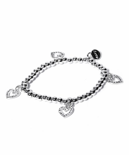 Envy Jewellery Heart Charms Bracelet