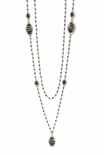 Envy Jewellery Fine Chain Layered Necklace