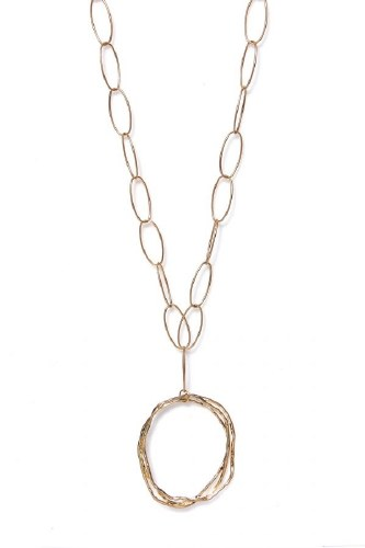 Envy Jewellery Circle Pendant Necklace