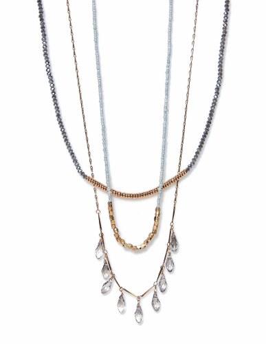 Envy Jewellery Diamante multi Necklace