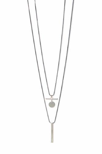Envy Jewellery Geometric Pendant Necklace